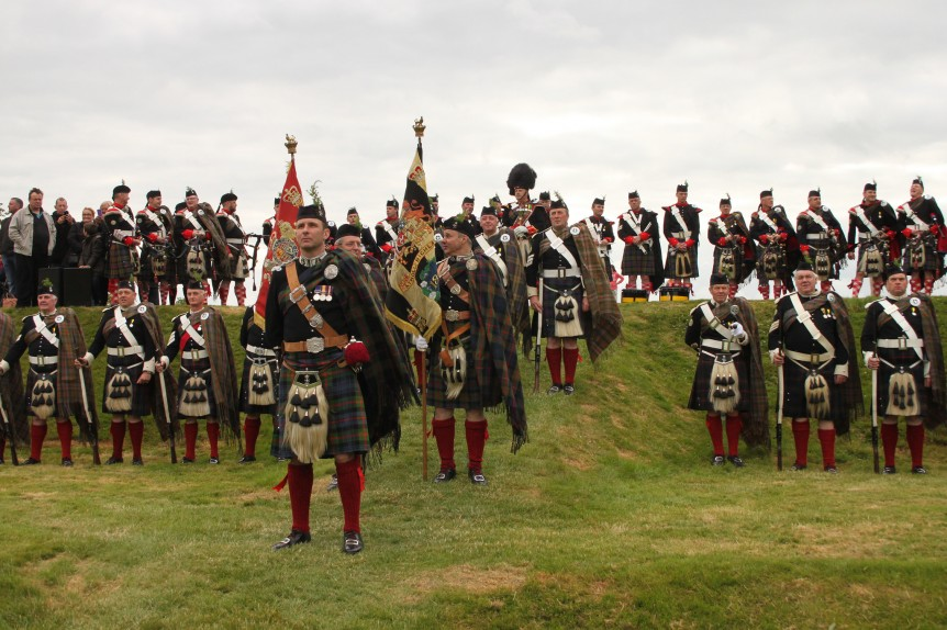 The Atholl Highlanders, The King's Knot