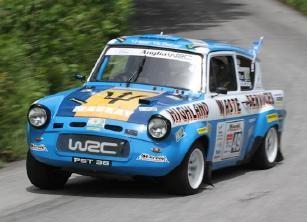 Allan Mackay's Ford Anglia